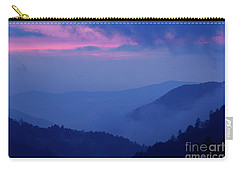 Carry-all Pouch featuring the photograph Ridges - D000023 by Daniel Dempster