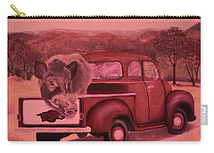 Ridin' With Razorbacks 3 Carry-all Pouch