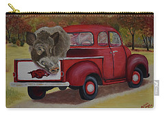 Ridin' With Razorbacks Carry-all Pouch
