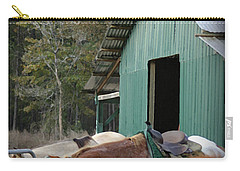 Riding Horses Carry-all Pouch by Kim Henderson