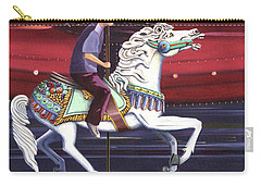 Riding The Carousel Carry-all Pouch