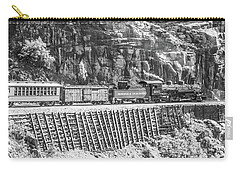 Carry-all Pouch featuring the photograph Riding The Edge by Colleen Coccia