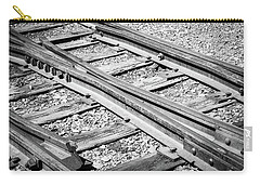 Carry-all Pouch featuring the photograph Riding The Rail by Colleen Coccia