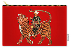 Riding The Tiger Carry-all Pouch