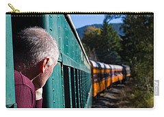 Riding The Train 8x10 Carry-all Pouch