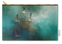 Riding The Winds Carry-all Pouch by Marvin Spates