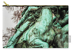 Carry-all Pouch featuring the photograph Riding Tight by Christopher Holmes