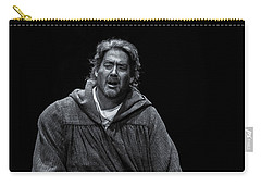 Carry-all Pouch featuring the photograph Rigoletto Pieta by KG Thienemann