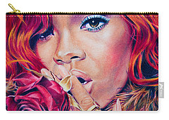 Rihanna Carry-all Pouch by Brian Owens