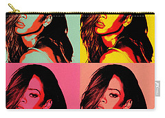 Rihanna Pop Art Carry-all Pouch