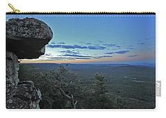Carry-all Pouch featuring the photograph Rim Daybreak by Gary Kaylor