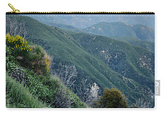 Carry-all Pouch featuring the photograph Rim O' The World National Scenic Byway II by Kyle Hanson