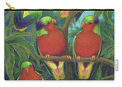 Rimatara Lorikeets Carry-all Pouch
