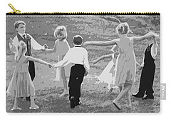 Carry-all Pouch featuring the photograph Ring Around The Rosy by Colleen Coccia