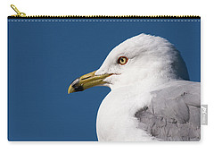 Ring-billed Gull Portrait Carry-all Pouch