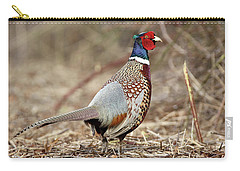 Ring-necked Pheasant Stony Brook New York Carry-all Pouch