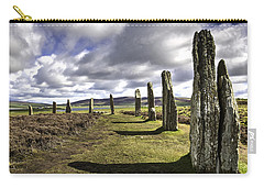 Ring Of Brodgar Carry-all Pouch by Fran Gallogly