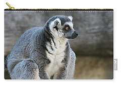Ring-tailed Lemur #7 Carry-all Pouch