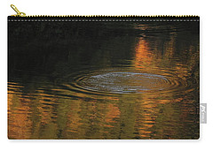 Carry-all Pouch featuring the photograph Rings And Reflections by Suzy Piatt