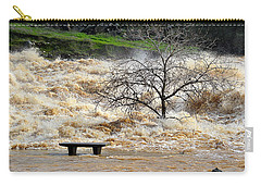 Carry-all Pouch featuring the photograph Ringside Seat by AJ Schibig