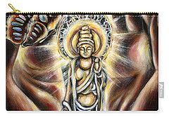 Carry-all Pouch featuring the painting Rinne by Hiroko Sakai