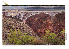 Rio Grande Gorge Bridge Carry-all Pouch by Jill Battaglia