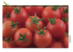 Carry-all Pouch featuring the photograph Ripe Garden Cherry Tomatoes by James BO Insogna