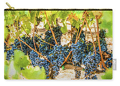 Ripe Grapes On Vine Carry-all Pouch