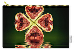 Carry-all Pouch featuring the photograph Ripe Juicy Figs Fruit by David French