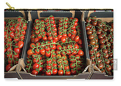 Carry-all Pouch featuring the photograph Ripe Tomatoes by Hans Engbers