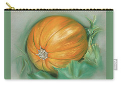 Ripening Pumpkin On The Vine Carry-all Pouch