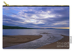 Rippled Inlet Near Sunset Carry-all Pouch by Rachel Cohen