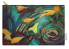 Ripples In Time Carry-all Pouch