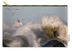 Carry-all Pouch featuring the photograph Rise Above The Turbulence by Everet Regal