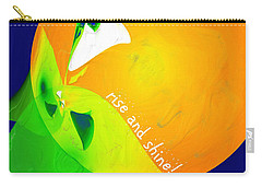 Rise And Shine Carry-all Pouch by Methune Hively