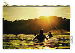 Carry-all Pouch featuring the photograph Rise And Shine by Nik West