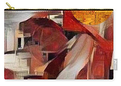 Carry-all Pouch featuring the mixed media Rise by Ray Tapajna