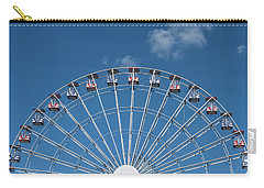 Rise Up Ferris Wheel In The Clouds Seaside Nj Carry-all Pouch by Terry DeLuco