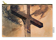Carry-all Pouch featuring the digital art Risen  by Aaron Berg