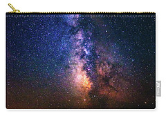 Carry-all Pouch featuring the photograph Rising From The Clouds by Bryan Carter