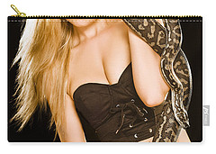 Risk At Play Carry-all Pouch