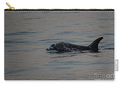 Risso's Dolphins Carry-all Pouch by Suzanne Luft
