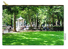Carry-all Pouch featuring the photograph Rittenhouse Square by Christopher Woods