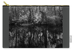 Carry-all Pouch featuring the photograph River Bank Palmetto by Marvin Spates