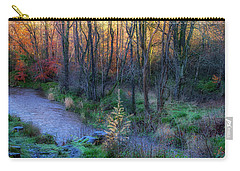 Carry-all Pouch featuring the photograph River Devon In Clackmannan by Jeremy Lavender Photography
