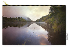 Carry-all Pouch featuring the photograph River Fire  by Amy Weiss