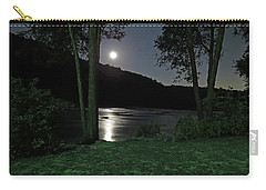River In Moonlight Carry-all Pouch
