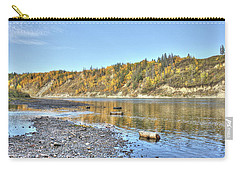 River In The Fall Carry-all Pouch