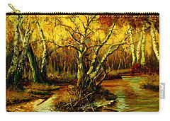 River In The Forest Carry-all Pouch