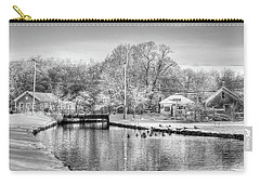 River In The Snow Carry-all Pouch